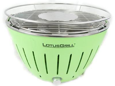 LOTUS GRILL ロータスグリル G340 無煙炭火バーベキューグリル BBQ キャンプ アウトドア 卓上用