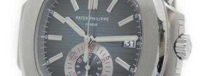 パテックフィリップ PATEK PHILIPPE ノーチラス クロノグラフ 5980/1A-001