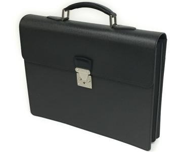 ルイヴィトン LOUIS VUITTON タイガ モスコバ アルドアーズ M30032 書類鞄 ブリーフケース ビジネスバッグ メンズ 黒