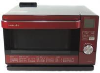 SHARP シャープ ウォーターオーブン ヘルシオ AX-CA100-R 電子オーブンレンジ 18L レッド