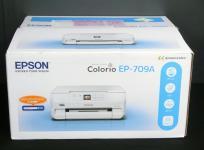 EPSON Colorio カラリオ EP-709A コンパクトサイズ 6色プリンター 2017年製