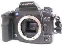 KONICA MINOLTA α-7 デジタル カメラ デジイチ 一眼レフ 訳あり