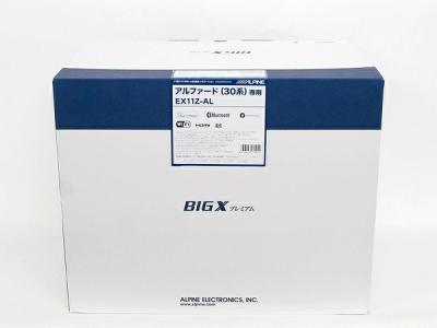 "ALPINE EX11Z-AL BIG X 11 アルファード(30系) アルファード ハイブリッド(30系) アルファード特別仕様車""TYPE BLACK""専用 アルパイン カーナビ"