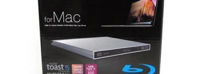 Logitec LBD-PUD6U3MSV USBポータブル Blu-rayドライブ ロジテック ブルーレイ for Mac