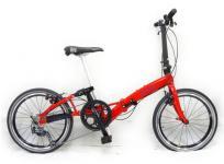 テックワン CARACLE-S 折りたたみ自転車 レッド 20インチの買取