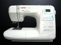 JANOME ジャノメ コンピューターミシン JP-500 ミシン 家電 ホワイト