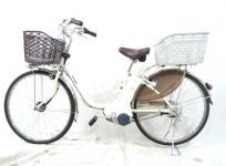 パナソニック DX BE-ELD63F 電動アシスト自転車 ビビ・DX 26型 内装3段変速 大型の買取
