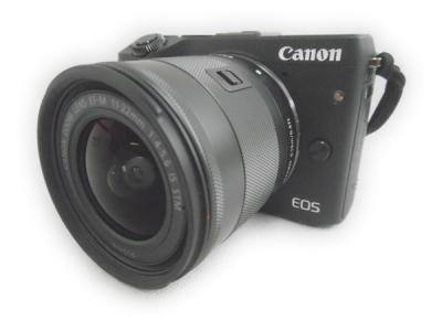 Canon EOS M3 11-22mm F4-5.6 IS STM ミラーレス 一眼レフ カメラ