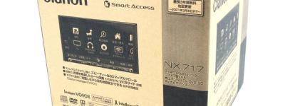 クラリオン NXシリーズ NX717 カーナビ メモリ 7型 一体型