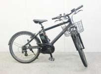 Panasonic パナソニック 電動 アシスト 自転車 BE-ENH544AB ブラック 26型 外装7段変速 8.9Ah 大型の買取