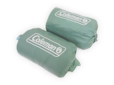 Coleman スリーピングバッグ 2個セット アウトドア キャンプ