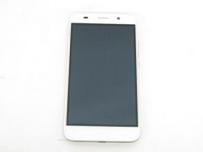 Huawei ファーウェイ Y6 SCL-L02 SIMフリー WHITE 8GB 5型 スマートフォン Android