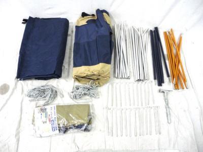UNIFLAME 3~4人用 テント AG-FOUR アウトドア 用品