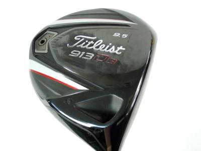 Titleist タイトリスト 913D3 9.5 ドライバー / ATTAS 5GOGO 6S シャフト ゴルフ クラブ
