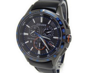 シチズン CITIZEN エコドライブ Bluetooth スマートウォッチ 腕時計 メンズ クロノグラフ BZ1035-09E