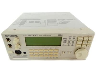 YAMAHA MU2000 MIDI 音源モジュール DTM音源