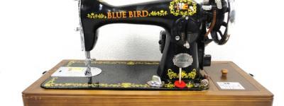 BLUE BIRD Sewing Machine HA アンティーク ミシン
