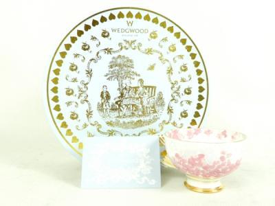 WEDGWOOD ウェッジウッド ハーレクィーン コレクション ティーカップ&ソーサー デコ ブルーム