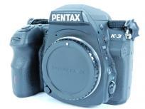 RICOH PENTAX K-3 デジタル 一眼レフ カメラ ボディ 機器