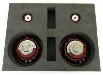 Acoustic Harmony アコースティックハーモニー ASP1 2Way スピーカーシステム カーオーディオ クリムゾン