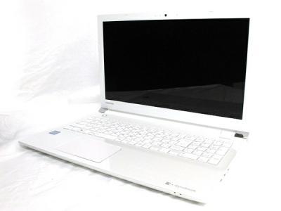 TOSHIBA 東芝 dynabook AZ45/AW PAZ45AW-SJD ノートパソコン i3-6100U 4GB 750GB Win10 リュクスホワイト