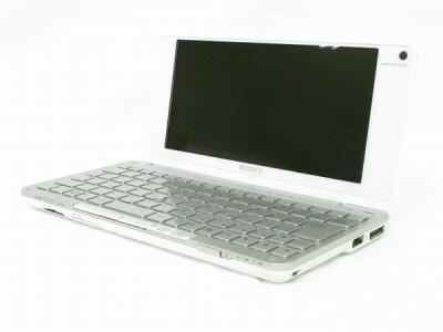 SONY ソニー VAIO VGN-P70H ノート パソコン PC 8型 Atom Z520 1.33GHz 2GB HDD60GB OS無 クリスタルホワイト