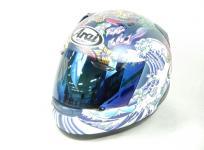 Arai ASTRO-IQ 61-62cm グラスホワイト ヘルメット バイク用品の買取