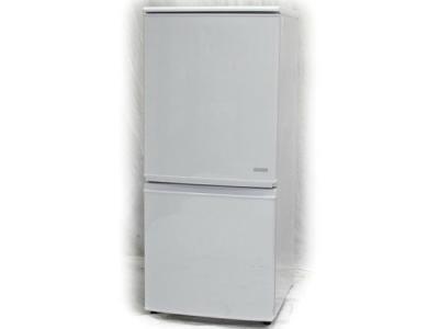SHARP SJ-C14C-W どっちもつけかえドア ノンフロン 冷凍 冷蔵庫 137L 2016年製 大型