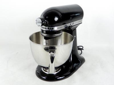 KitchenAid キッチンエイド KSM150PSOB ミキサー フードプロセッサー 5クォート キッチン用品