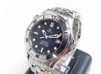 OMEGA オメガ シーマスター プロフェッショナル 300 2562.80 ボーイズ 腕時計 ステンレス クォーツ 青文字盤 ネイビー