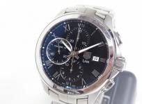 タグホイヤー リンク クロノグラフ CAT2012 メンズ 腕時計 ステンレス 自動巻き デイト 黒文字盤