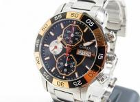 CIMIER シミエール セブンシーズ 6101-SSEE132S メンズ 腕時計 ステンレス 自動巻き クロノグラフ デイデイト 黒文字盤
