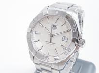 タグホイヤー アクアレーサー 300M WAY1111 メンズ 腕時計 ステンレス クォーツ デイト 白文字盤
