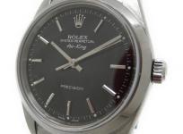 ロレックス ROLEX 腕時計 エアキング 14000 A番 ブラック 自動巻 メンズ