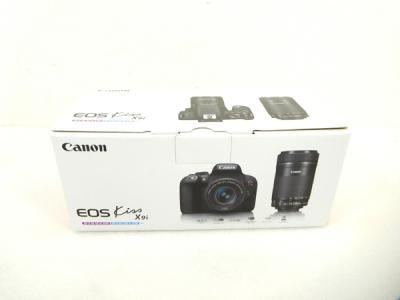 Canon EOS Kiss X9i ダブル レンズ キット 18-55 55-250 デジタル 一眼レフ カメラ キヤノン