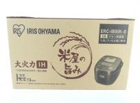 アイリスオーヤマ ERC-IB50K-B 炊飯器 IH式 1.0L 家電