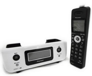 Pioneer TF-FD31S-W デジタルコードレス留守番 電話 オシャレ コンパクト デザイン ホワイト