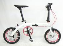 RENAULT ルノー ULTRA LIGHT 7 折りたたみ式 自転車 ミニベロ 14インチ 超軽量の買取