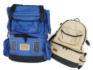 LAMDA ラムダ カメラバッグ 鞄 2点セット セット売り カメラ用品 登山 アウトドア