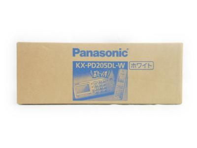 Panasonic パナソニック おたっくす KX-PD205DL-W FAX