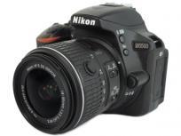Nikon ニコン 一眼 レフ D5500 18-55 VRII レンズキット ブラック カメラ デジタル