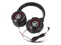 audio technica オーディオテクニカ ATH-WS770 BRD ポータブル ヘッドホン 音響機材 レッド × ブラック