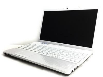 SONY VAIO Eシリーズ VPCEH18FJ/B ブラック Core i3/4GB/640GB/multi/win7