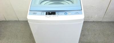 AQUA アクア AQW-GS70E 全自動 洗濯機 7.0kg 2017年製 ホワイト 家電