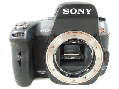 SONY ソニー α550 ボディ DSLR-A550 一眼レフ カメラ