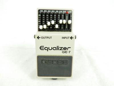 BOSS ボス Equalizer GE-7 ラフィックイコライザー エフェクター