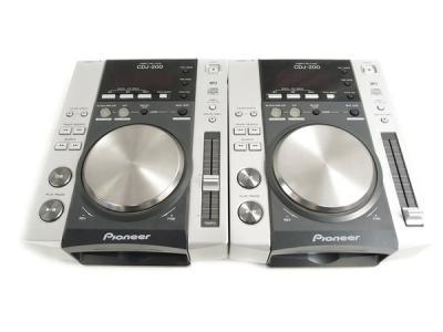 Pioneer パイオニア CDJ-200 DJ機器 ターンテーブル CD用 2台セット 音響機材