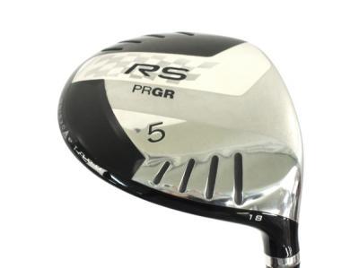 PRGR プロギア RS 5W / FLEX S /シャフト M-43 / ヘッドカバー 付き ゴルフ クラブ