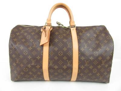 LOUIS VUITTON ルイヴィトン モノグラム キーポル50 M41426 ボストンバッグ ハンドバッグ 旅行 バッグ 男女兼用