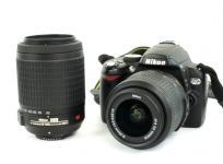 Nikon ニコン 一眼レフ D60 ダブル ズーム キット デジタル カメラ